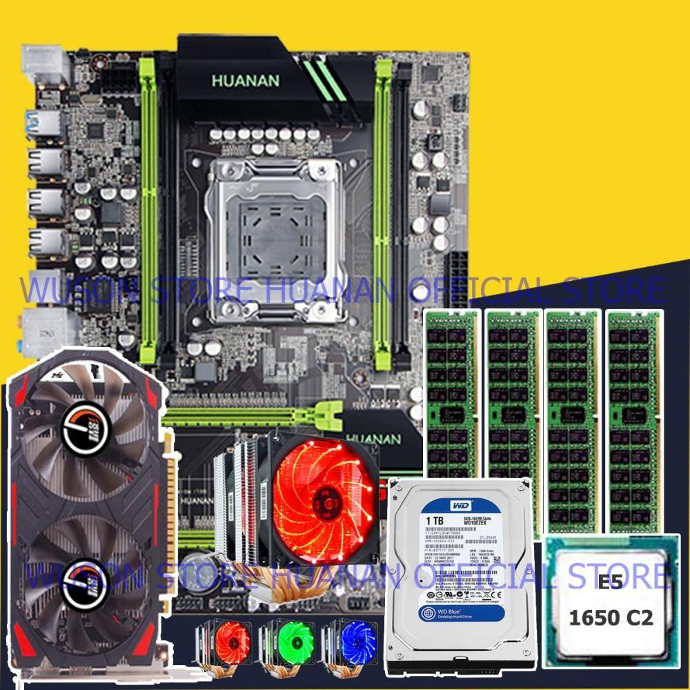 Computer DIY HUANAN X79 motherboard CPU Xeon E5 1650 RAM 16G