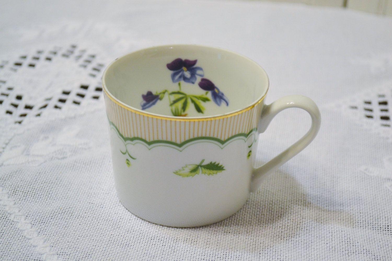 Vintage Georges Briard Birds Foot Violet Cup Victorian Gardens Replacement PanchosPorch