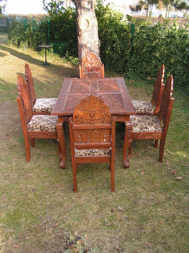 Tisch indien cheap indischer tisch kleiner indischer for Indischer holztisch