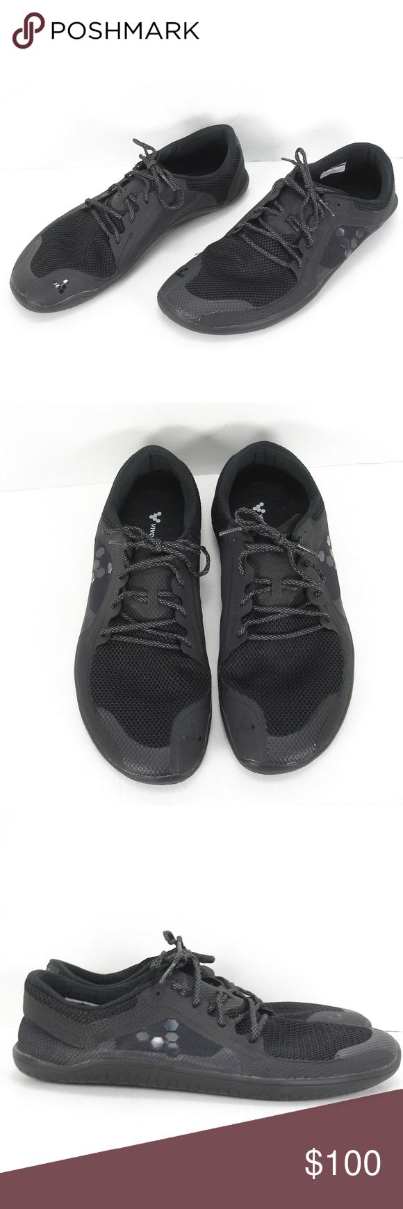 Vivobarefoot Primus Lite Black Spearmint Vegan Shoes