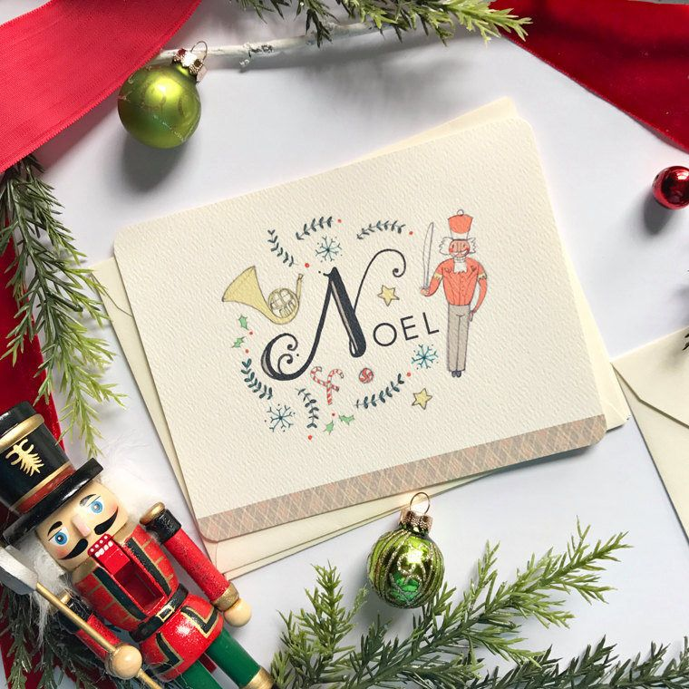 Nutcracker Christmas Cards - Boxed set #christmas #christmasgreeting ...