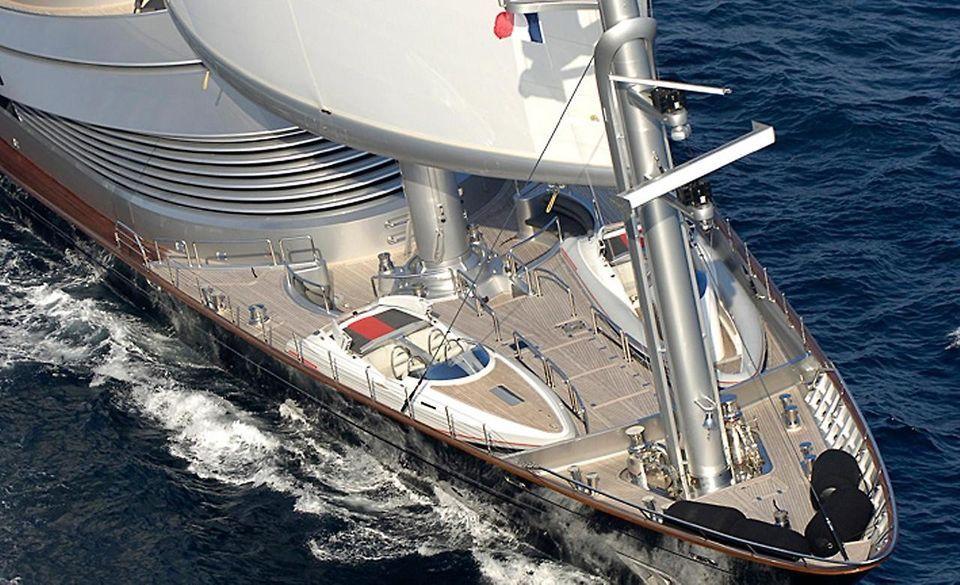 Maltese Falcon Sailing Yacht Megayachten Bootfahren Segeln