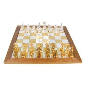 Sterling Silver Israeli Defense Forces (IDF) Chess Set