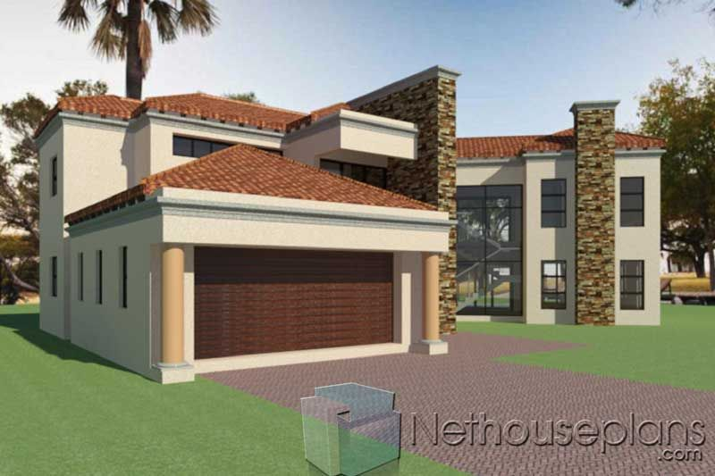 Modern Tuscan Home Design | South African House Plan ...