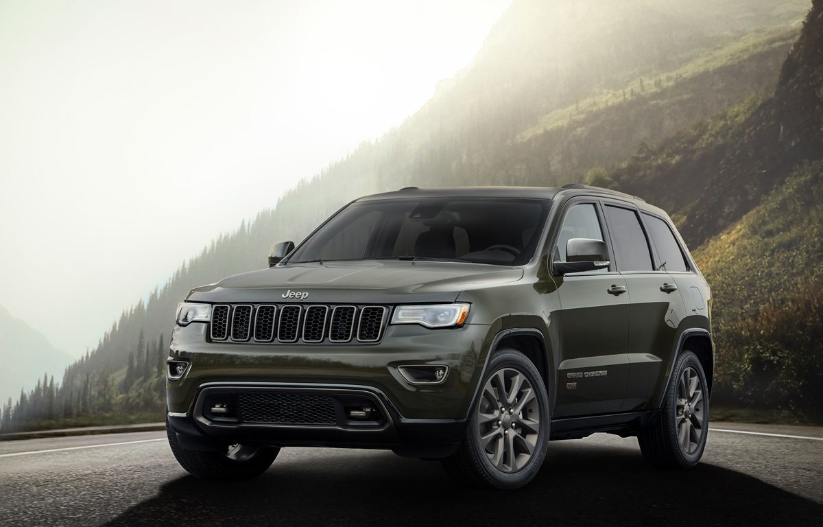 Celebrate 75 Years With The Jeep Grand Cherokee With New Rims And