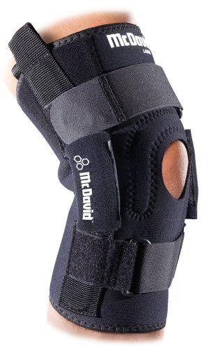 6bf9208113 McDavid Pro Stabilizer Knee Brace (Black, X-Large) by McDavid. $51.95. Polycentric  hinged knee brace with 3/4