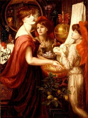La Bella Mano By Dante Gabriel Rossetti Alexa Wilding Was The