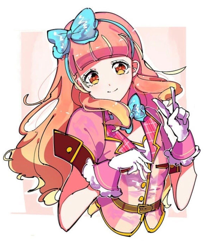Aikatsu Friends! Yuuki Aine Anime, Đang yêu, Hình ảnh