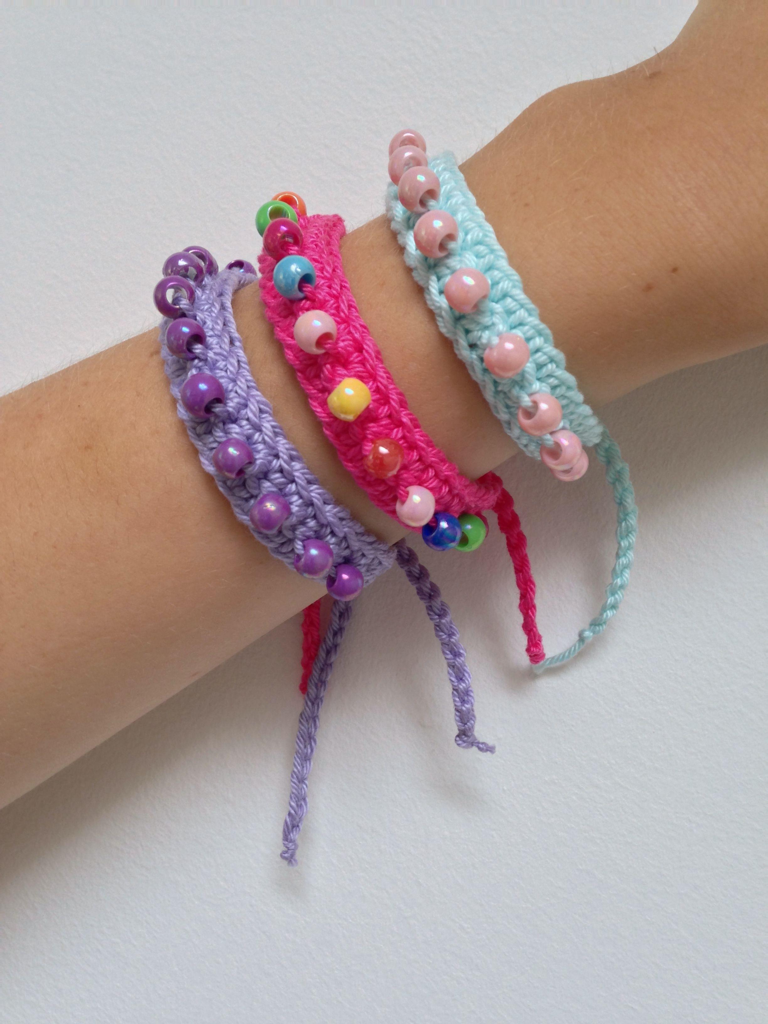 Marrose ccc friendship bracelets crochet u not crochetudknitting