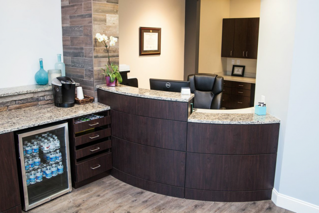 Dental Front Desk Design Ideas Hostgarcia