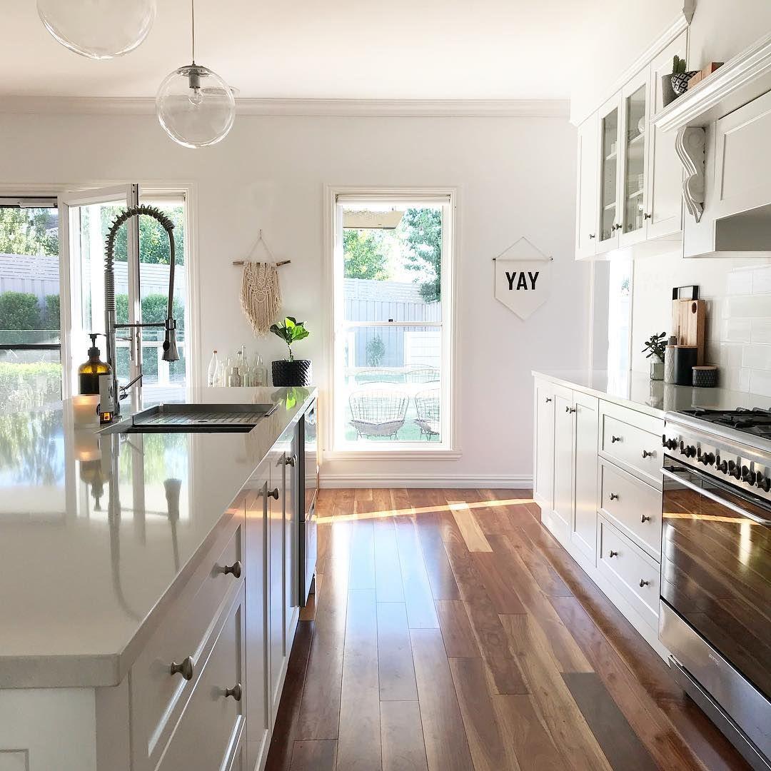 Floor Plan Friday Indooroutdoor fireplace Kitchen Design