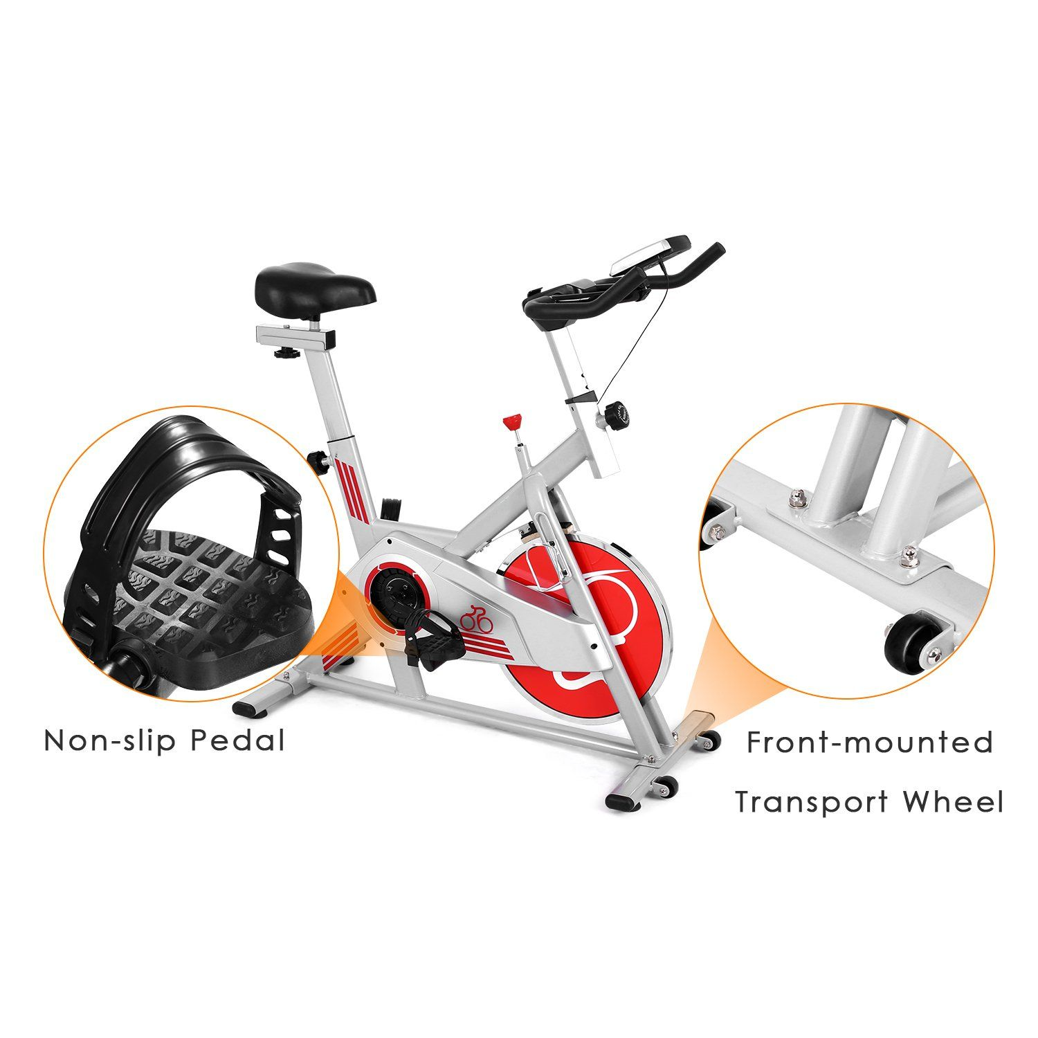 Ncient Indoor Cycling Bike Trainer Spin Bike Professional