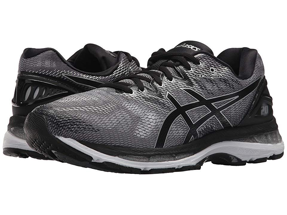 b555eaf1b75a01 ASICS GEL-Nimbus(r) 20 (Carbon Black Silver) Men s Running Shoes ...