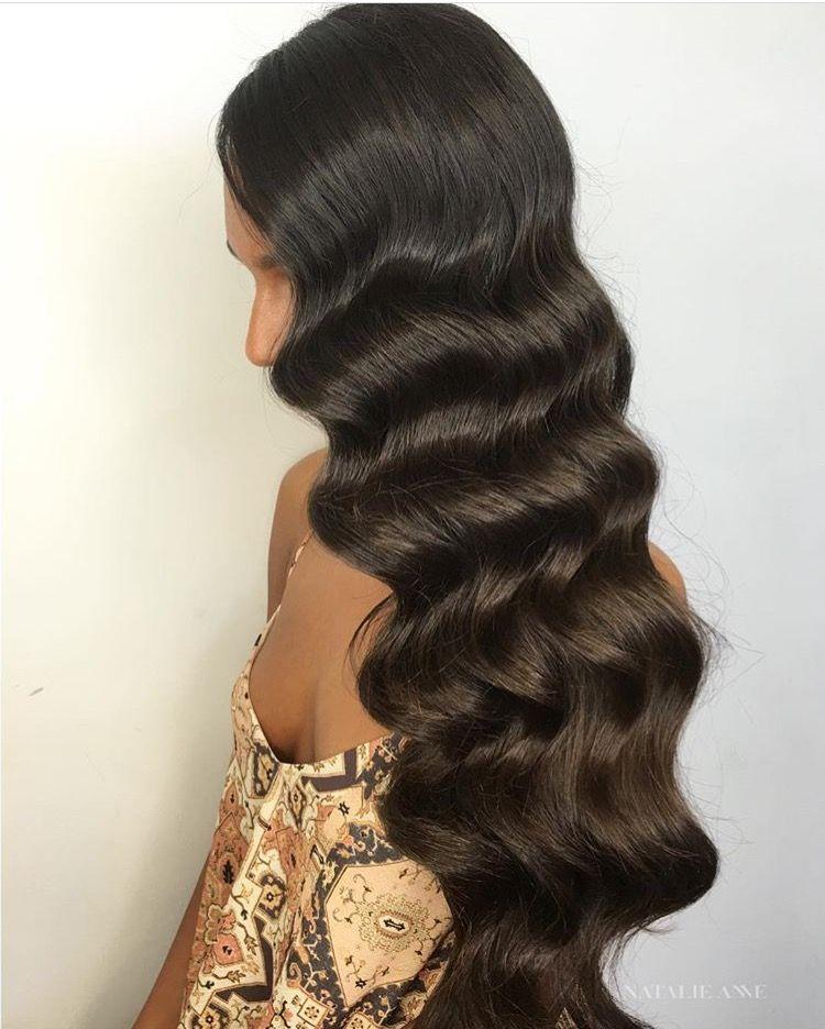 hollywood waves hair in 2019