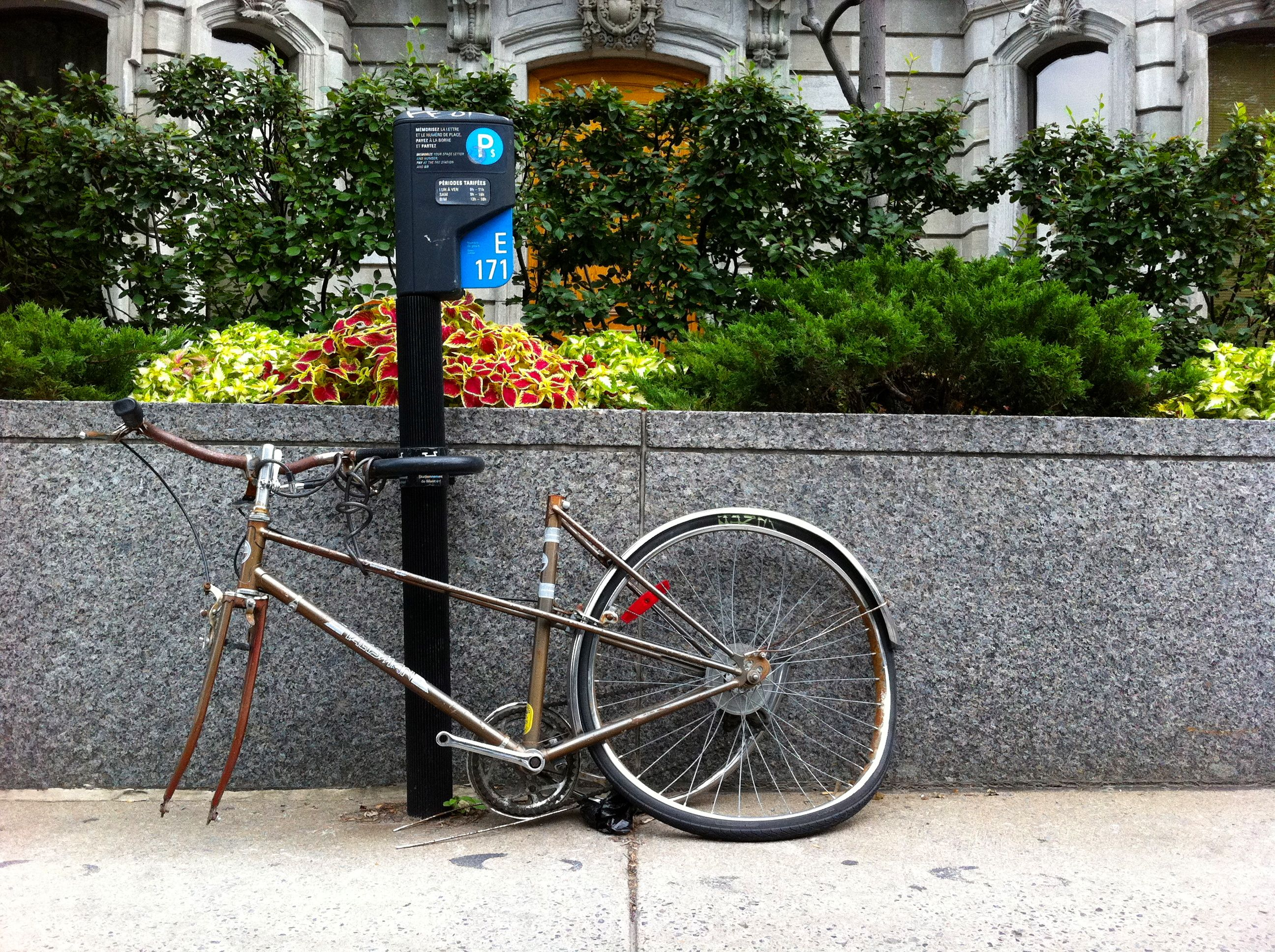 Bike in Montreal