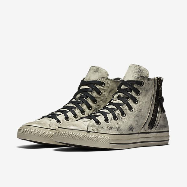 6720282a29630 Converse x John Varvatos Chuck Taylor All Star Side Zip High Top Unisex Shoe