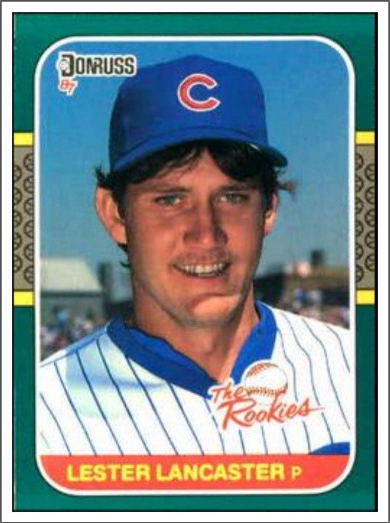 Les Lancaster Chicago Cubs Baseball Baseball Cards Sports