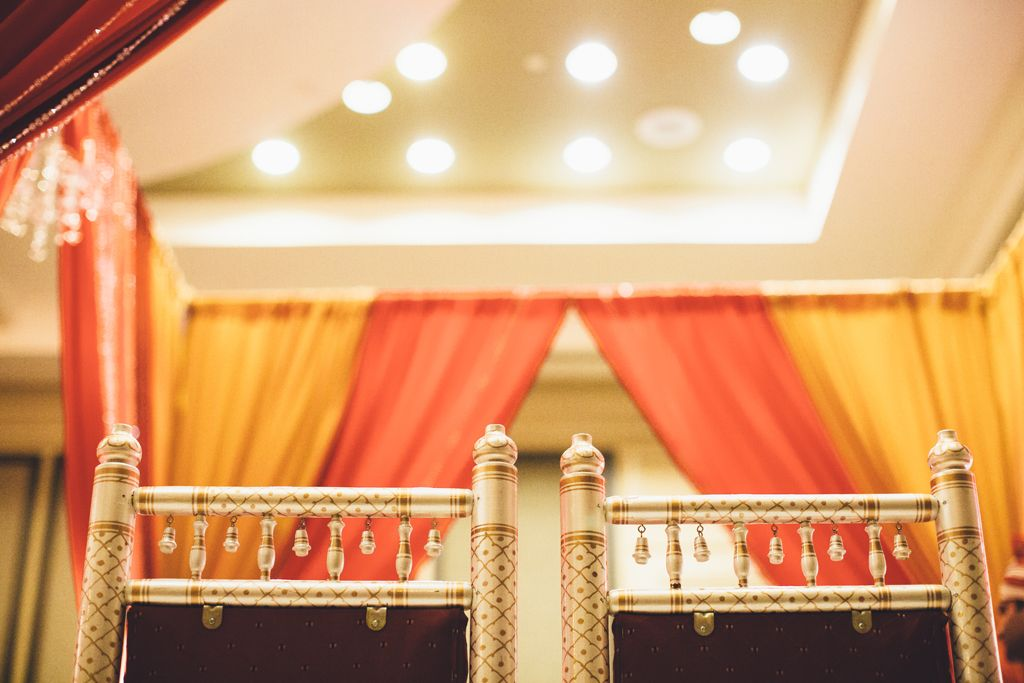 Mandap Detail - Courtesy of Justin Kunimoto Photography LLC