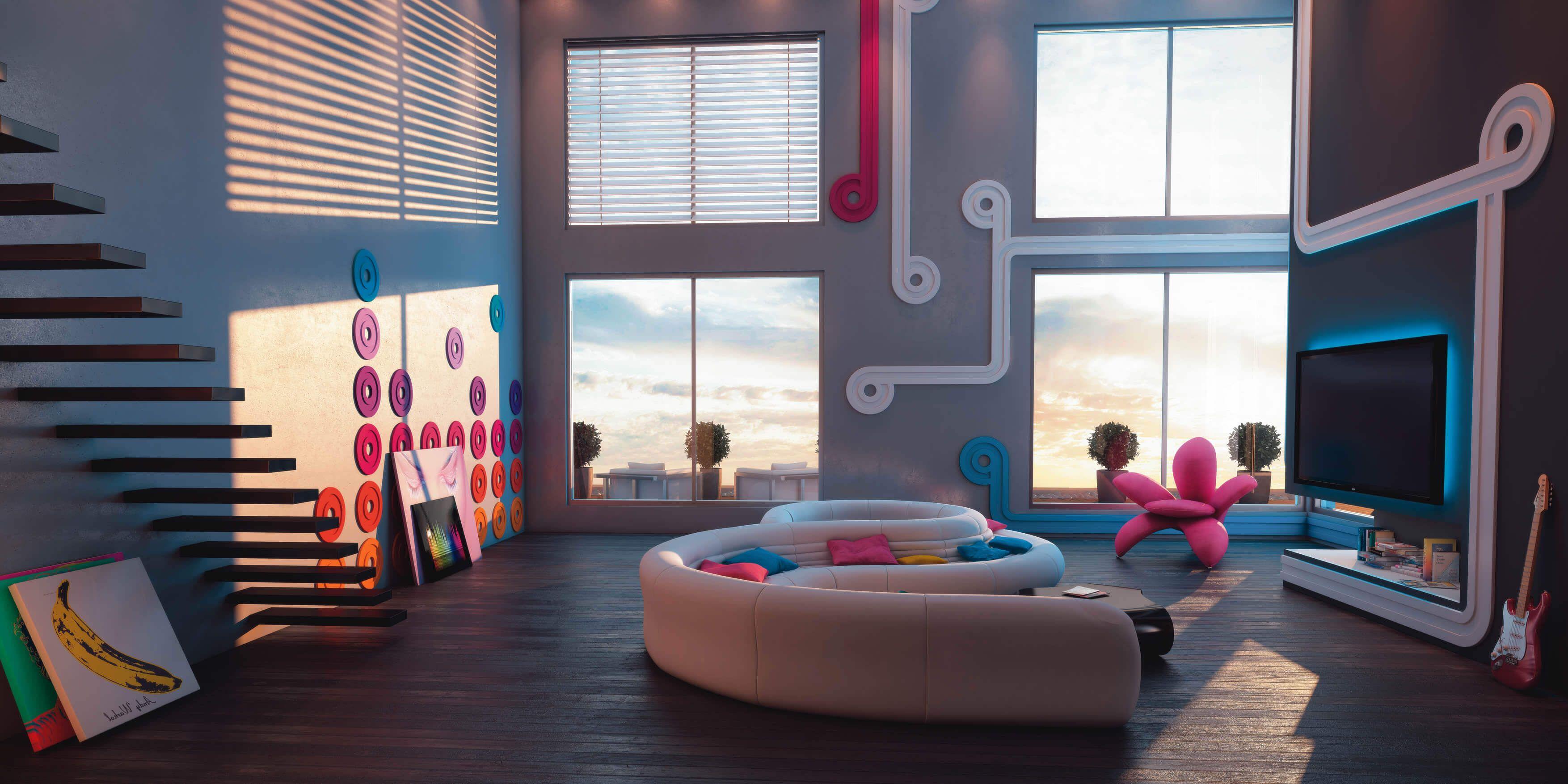 Nmc Wandleisten Und Deckenelemente Fur Einen Modernen Designer Look Im Wohnzimmer Zimmereinrichtung Wohnzimmermobel Wandleiste