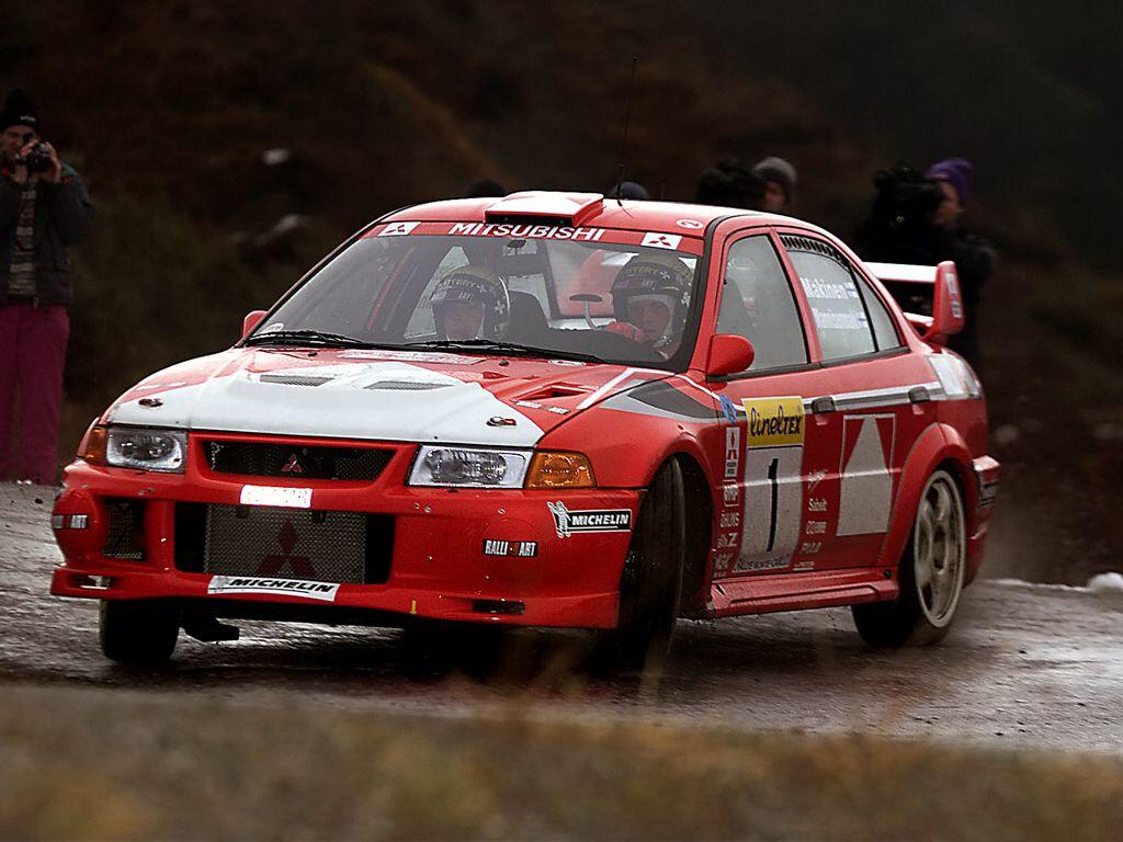 Tommi Makinen Mitsubishi Lancer | spor | Pinterest | Rally ...
