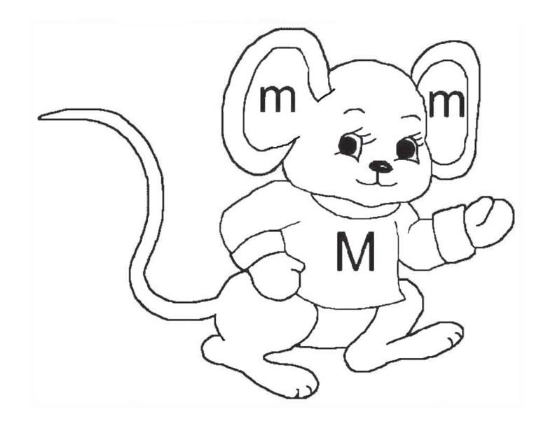 """""""M"""" is always moving like a mouse. Get all 26 letters of ..."""