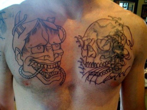 Mens Chest Tattoos Cover Ups Cool Tattoos Designs Tattoos For