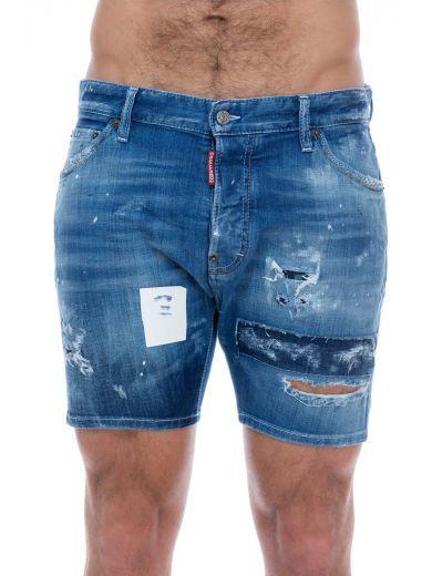 Fonkelnieuw DSQUARED2 Dsquared Blu Distressed Denim Shorts. #dsquared2 #cloth SD-51