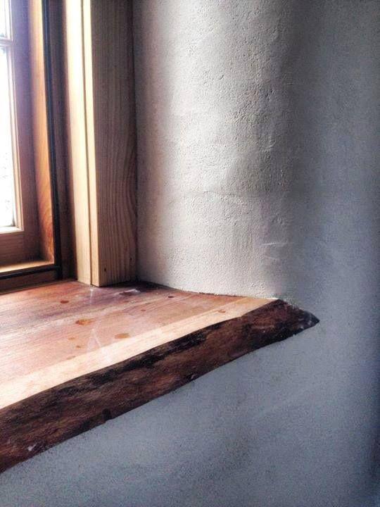 live edge wood window sill build naturally wood window. Black Bedroom Furniture Sets. Home Design Ideas