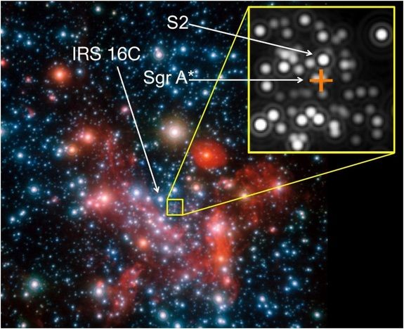Black Hole Imager Gets First View Of Galactic Core Black Hole