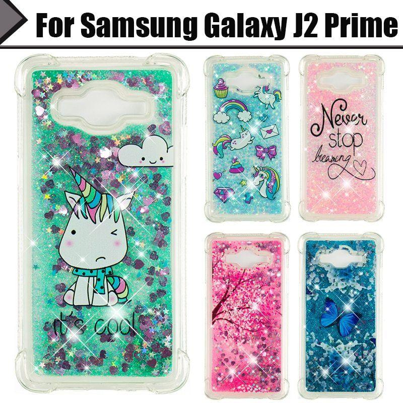 Eiimoo Telephone Case For Samsung Galaxy J2 Prime Case Luxurious Liquid Glitter Tender Tpu Again Cowl For Samsung J2 Prime G532 G532f Alharo Phone Cases Samsung Galaxy Samsung