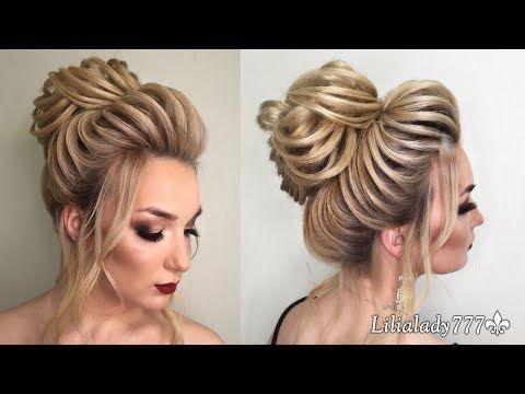 Wedding Formal Hair Style Texture High Beaminstructional