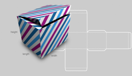 Free Online Template Maker For Gift Boxes Card Boxes And Envelopes - Online envelope template