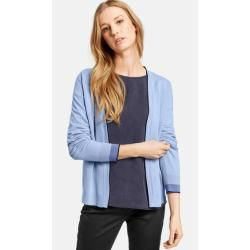 Photo of Offene Strickjacke Blau Taifun