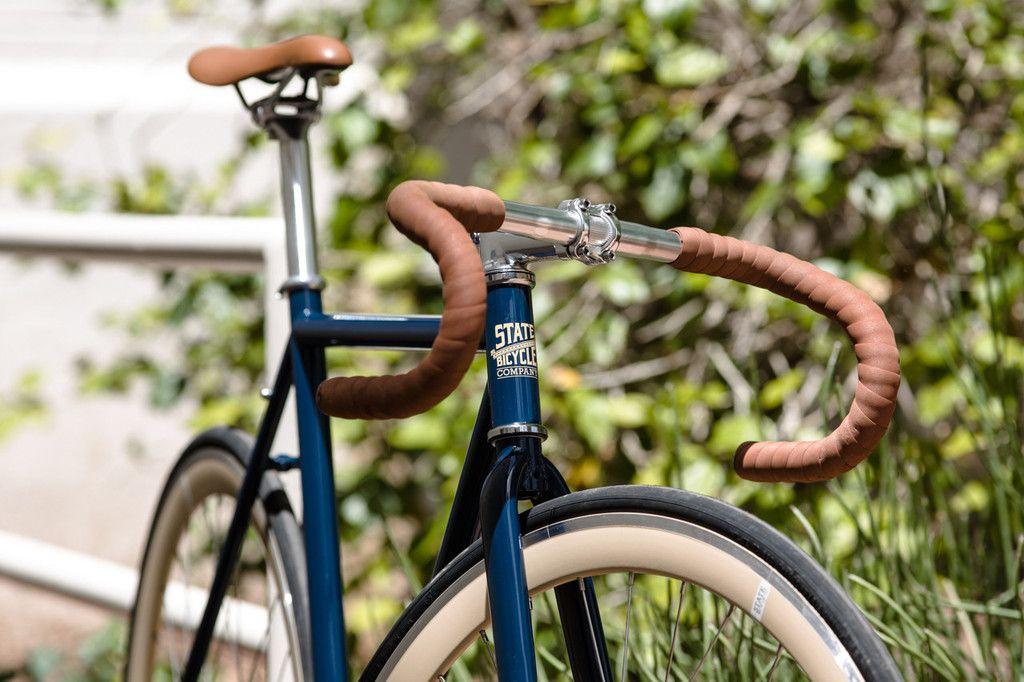 Lt Blue Bike Bicycle Fixie Cruiser Single Speed Handlebar Handle Bar Hand Grips