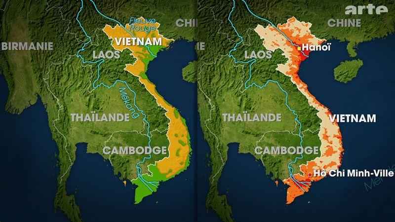 Die Beiden Flusslandschaften Sowie Ein Vom Monsun Gepragtes Klima