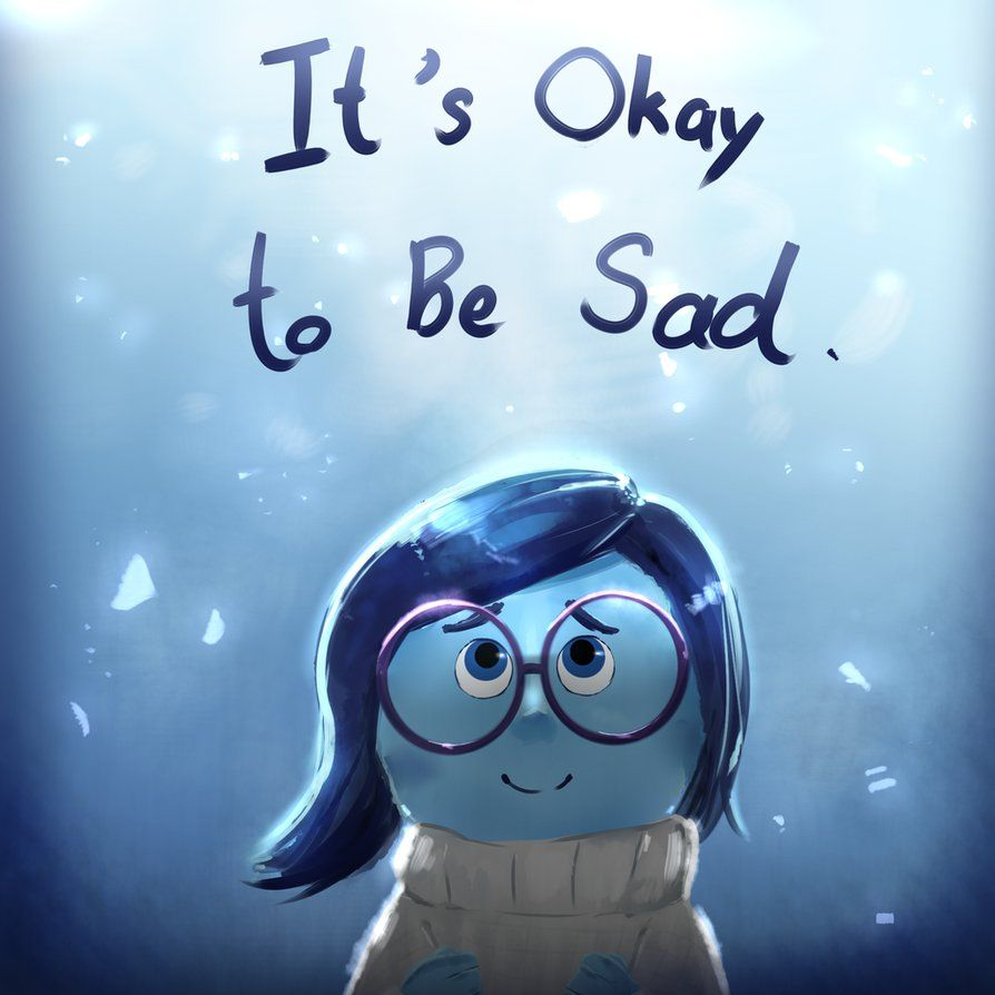 It's okay to be sad by ChaseFox on DeviantArt