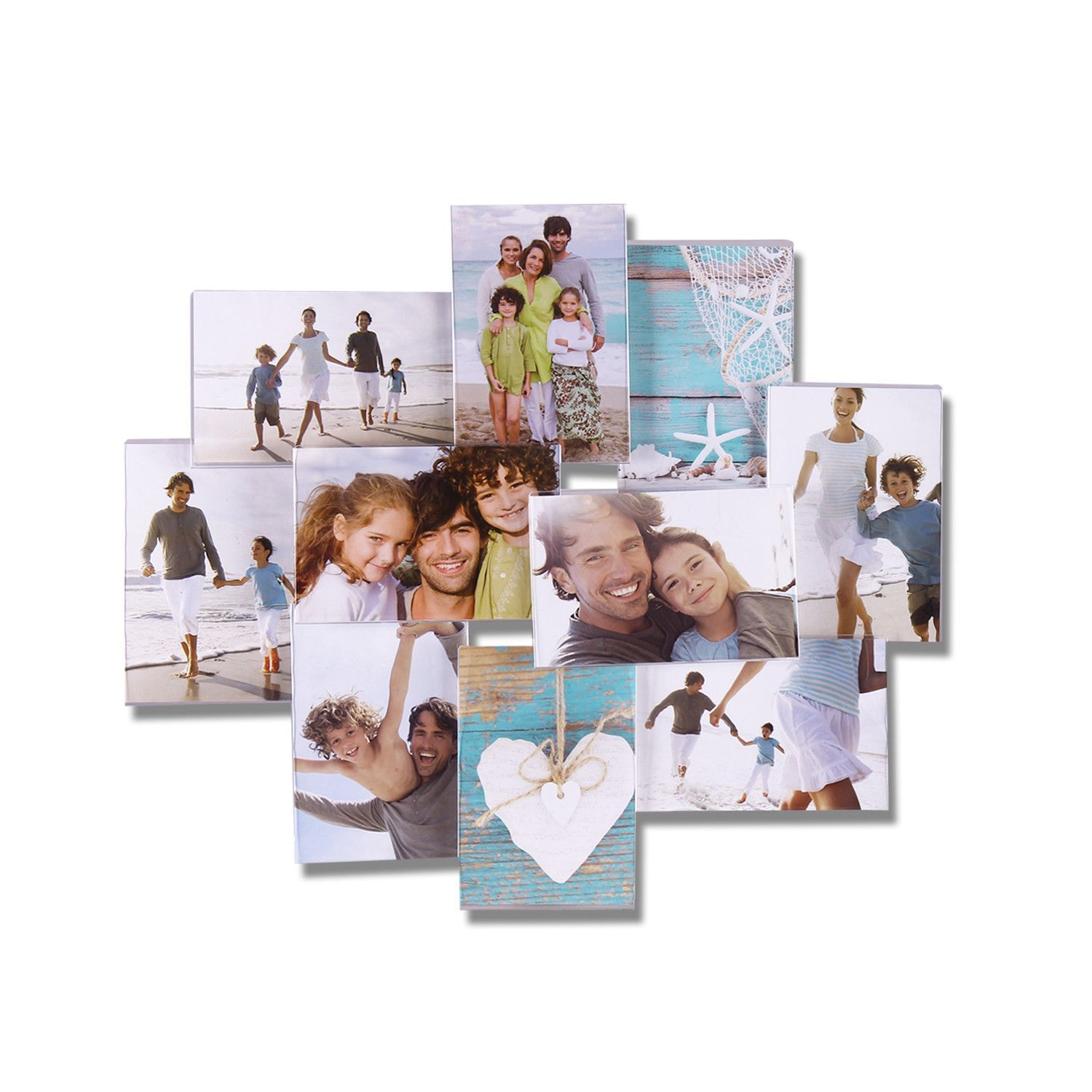 Furnistar Decorative Clear Plastic Wall Hanging Collage Picture ...