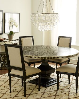 Patricia Side Chairs Vivian Inlay Dining Table By Bernhardt At