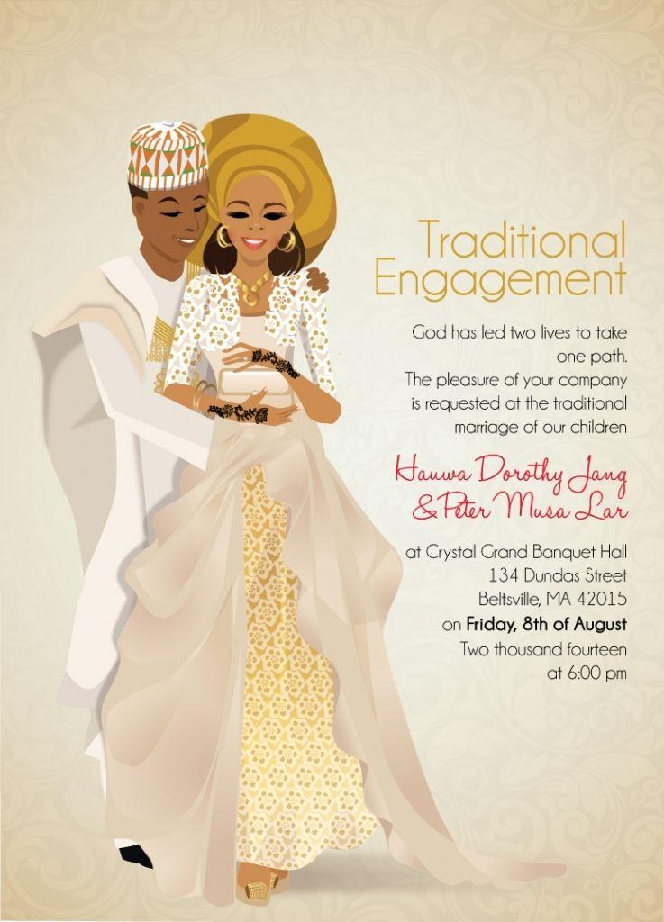 african american wedding invitations Wedding Pinterest African