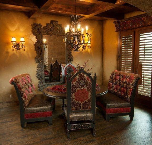 60 Mediterranean Home Decor Ideas 2020: Tuscan Decorating, Home Decor, Beautiful Dining