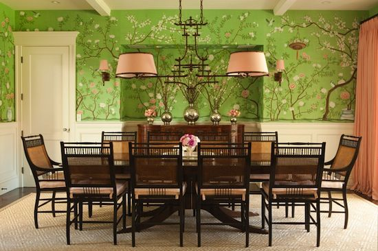 Classical Colonial Dining Room Featuring Lee Jofa Furniture And Fabric.  Available At The Du0026D Building