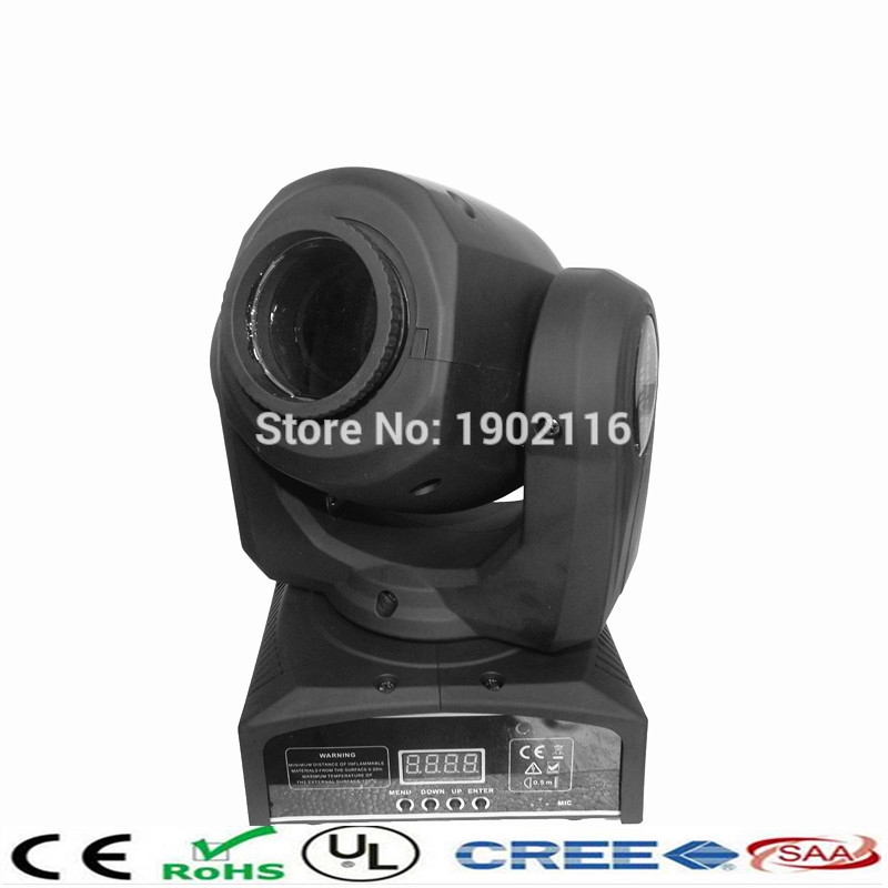 91.00$  Watch here - http://ali0t6.worldwells.pw/go.php?t=32699600232 - Fedex/DHL Free shipping led 10w spot moving head light led gobo stage light KTV party lights dj equipment 91.00$