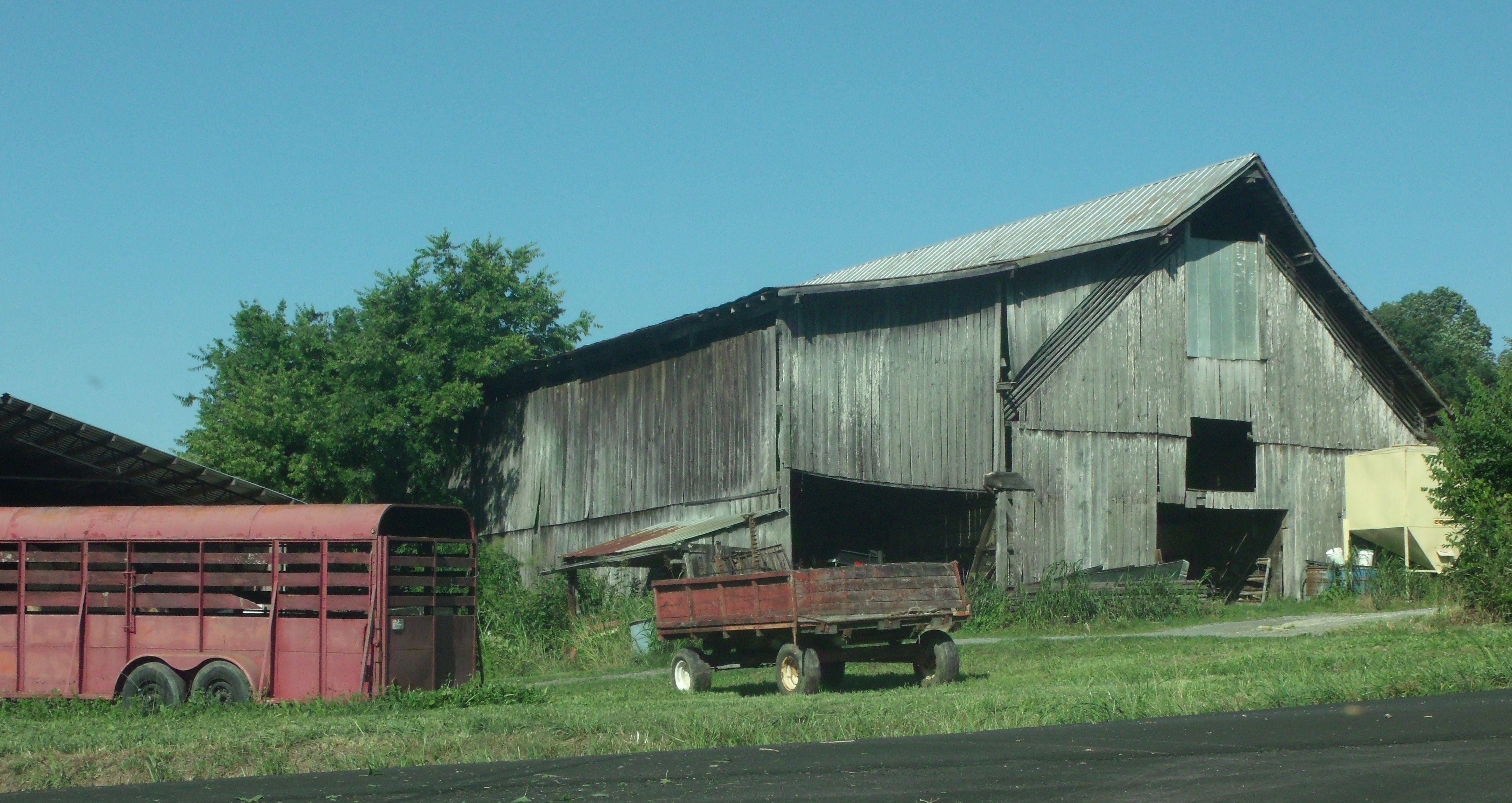 Barn Jearoldstown Greene County Tennessee Greene County Outdoor Tennessee