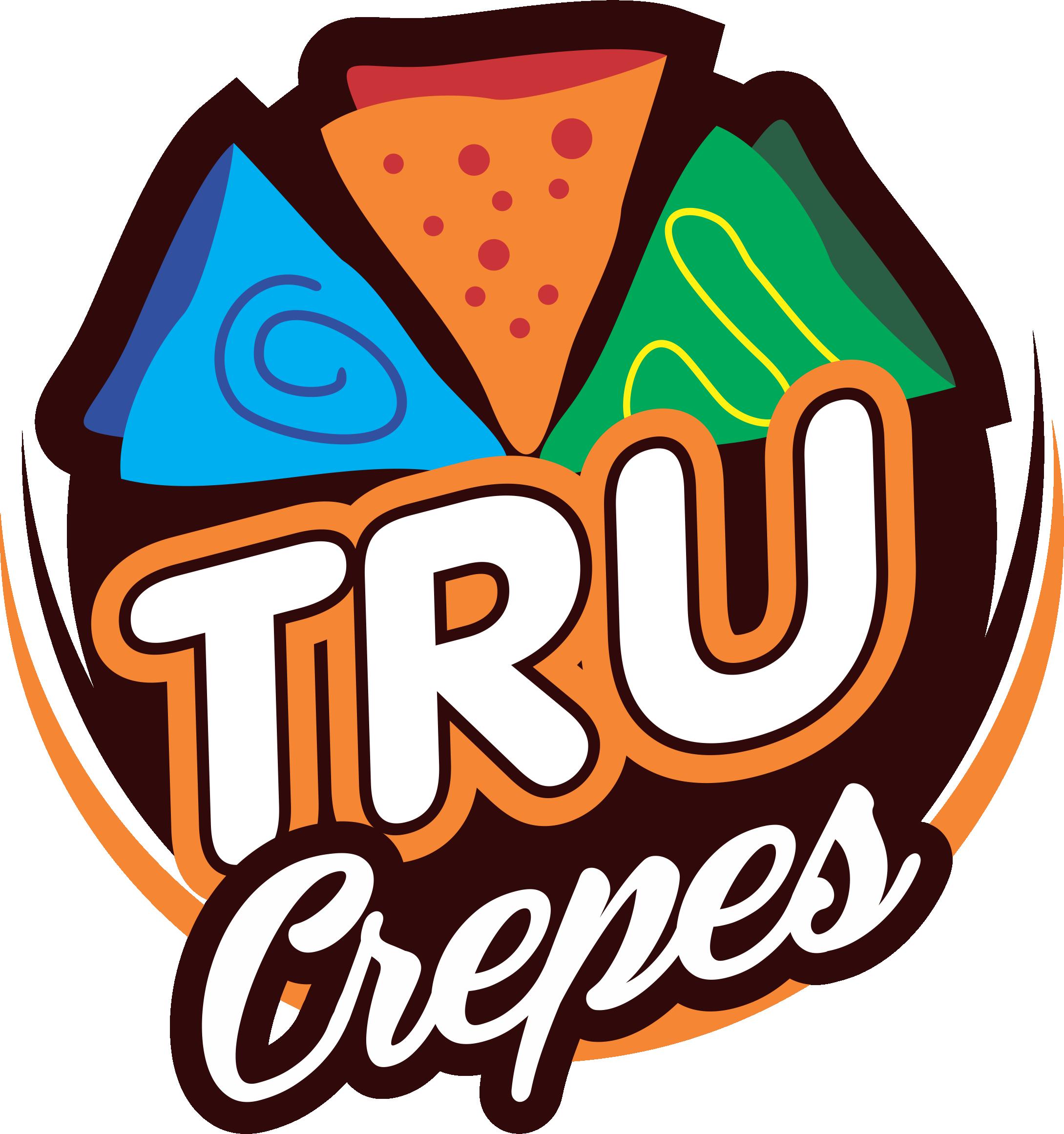 Logo Tru Crepes By Zannoism Com Crepes Logo Food Logo Design
