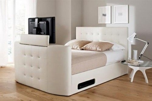Pop Out Tv From Bed Foot Google Search Tv Beds Modern