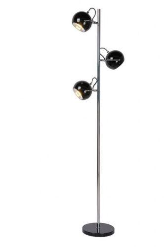 Lampadaire 3 Spots Luminaire Noir Lampe Sur Pied Moderne Design Neuf