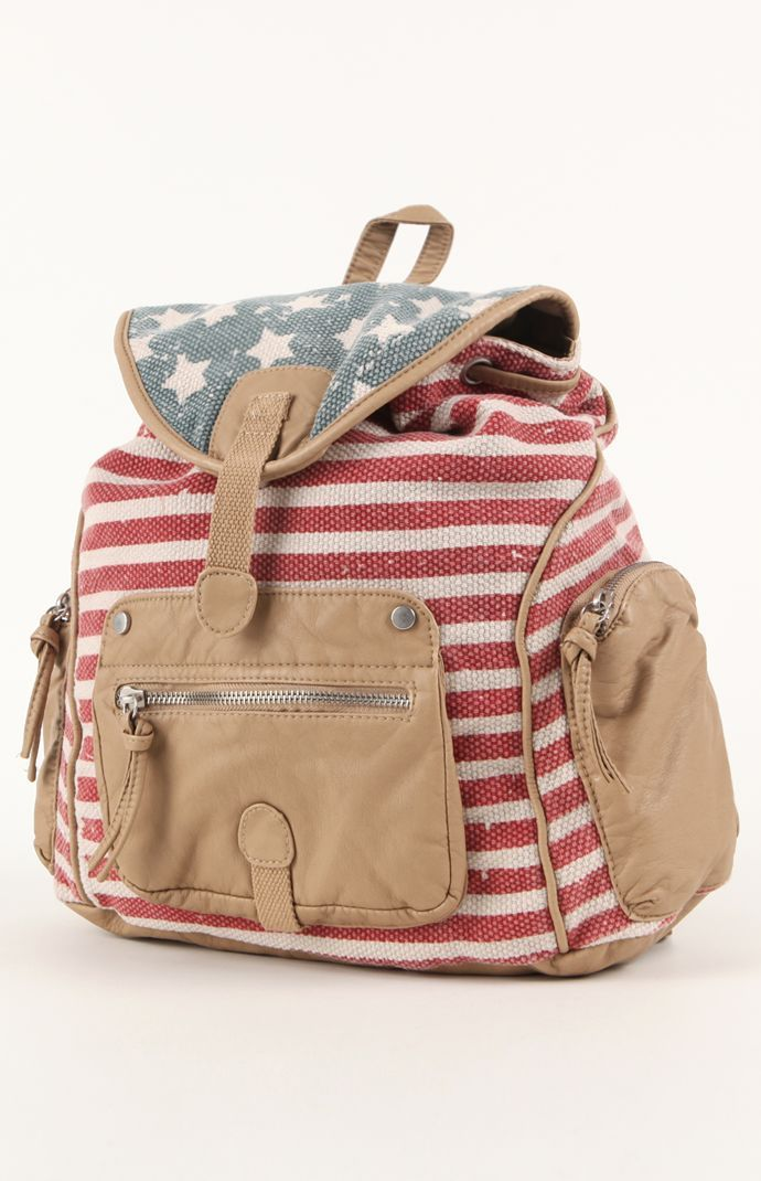 Kirra Americana Backpack Pacsun Get 5 Cash Back Studentrate Itp Student Deals 0