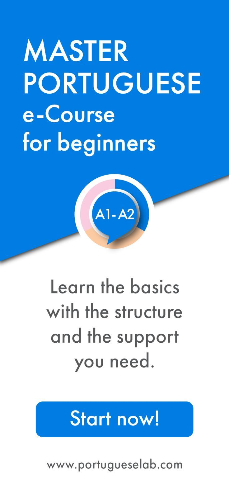 Are you a beginner in the Portuguese language in need of