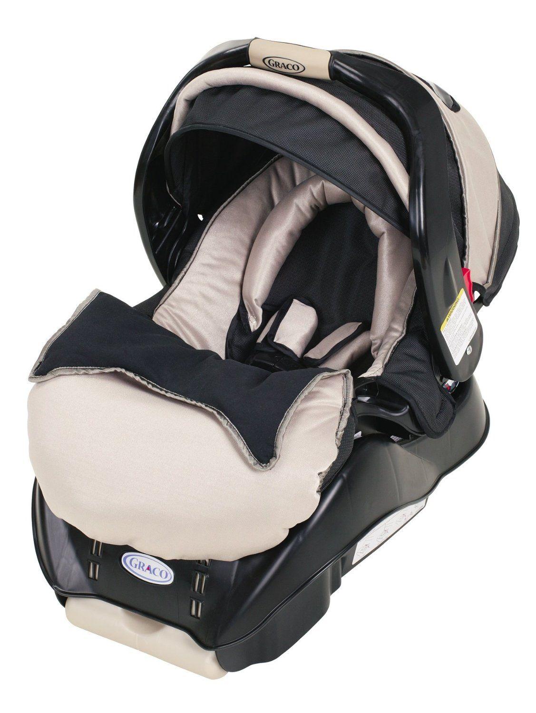 Graco Snugride Infant Car Seat, Platinum Baby