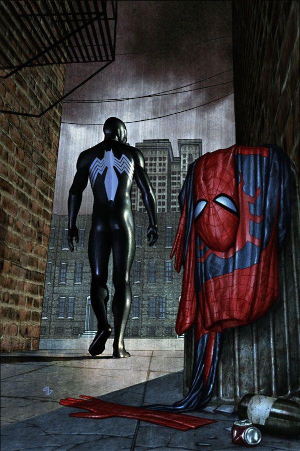 Spider-man 15 cover by Adi Granov
